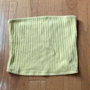 American Eagle Ribbed Tube Top size Large